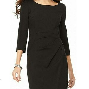 Calvin Klein | 3/4 Sleeve Sheath Dress